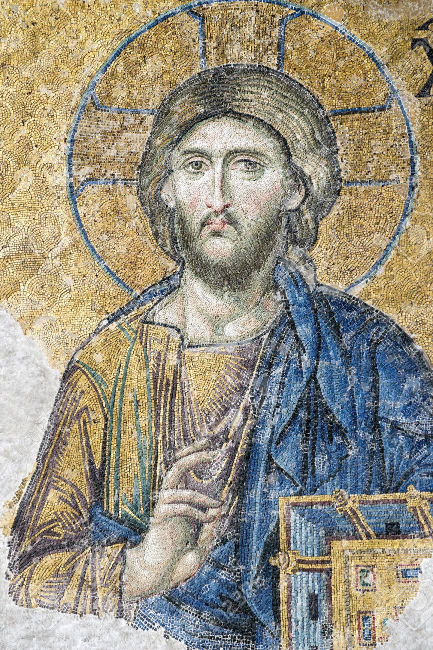 Tanító Krisztus a Hagia Sophia templomból